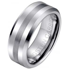 8mm Tungsten Wedding Engagement Band Ring
