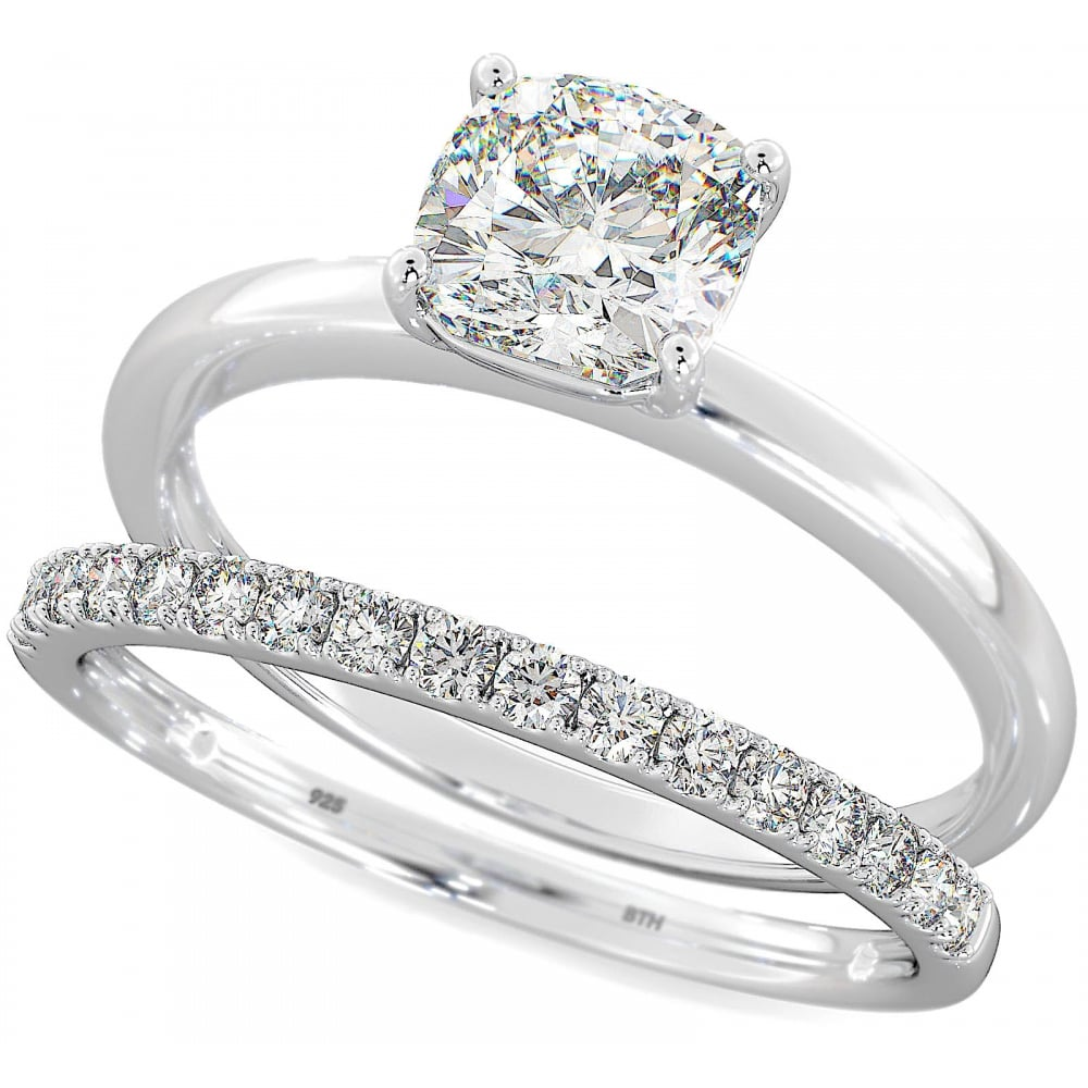 ring shop engagement wedding stone set gia diamond princess rings platinum
