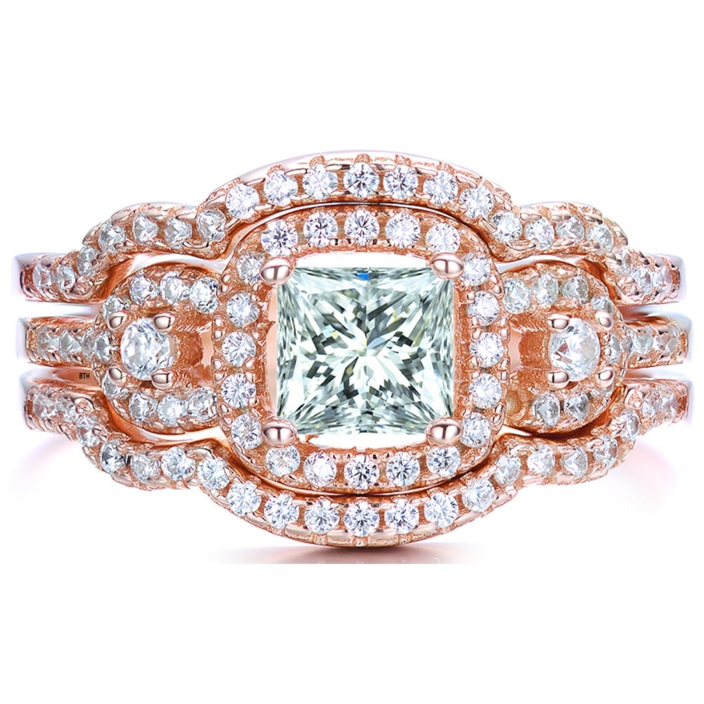 Now Forever And Always Engagement Ring Set