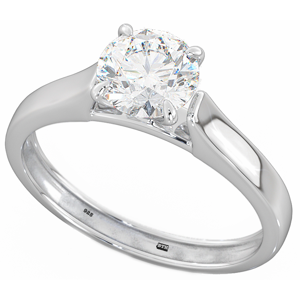 charm image rings crown diamond product silver of sterling ring engagement centres