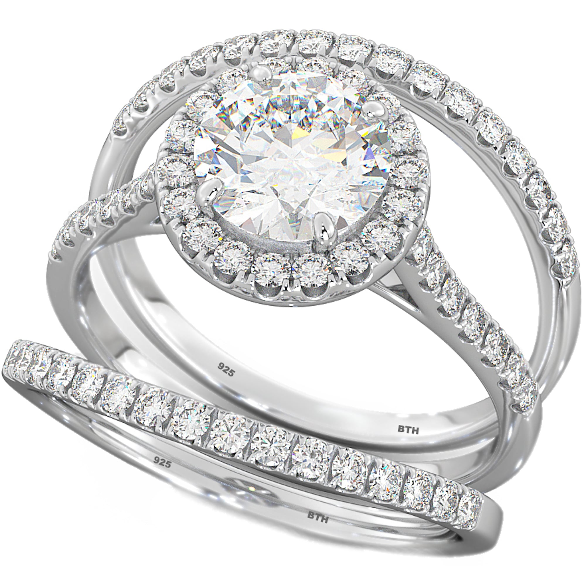 New 3 Piece Engagement Rings Ring Ideas
