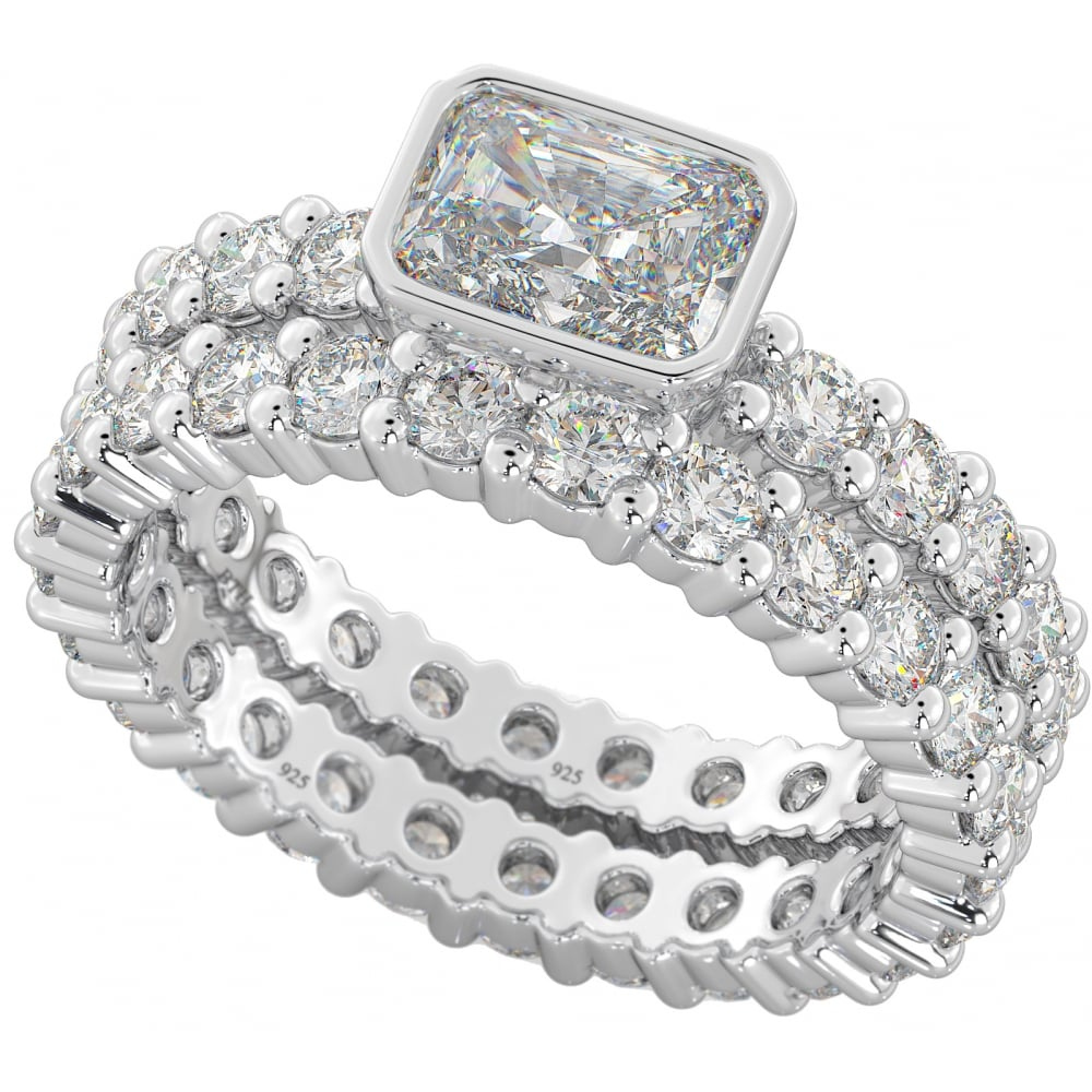 cubic plated p jewellery white zirconia sterling ring jewelry in silver gold marquise over