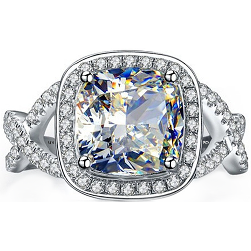 quilted peek profile boo diamond a rings cusion pave engagement cushion ring center