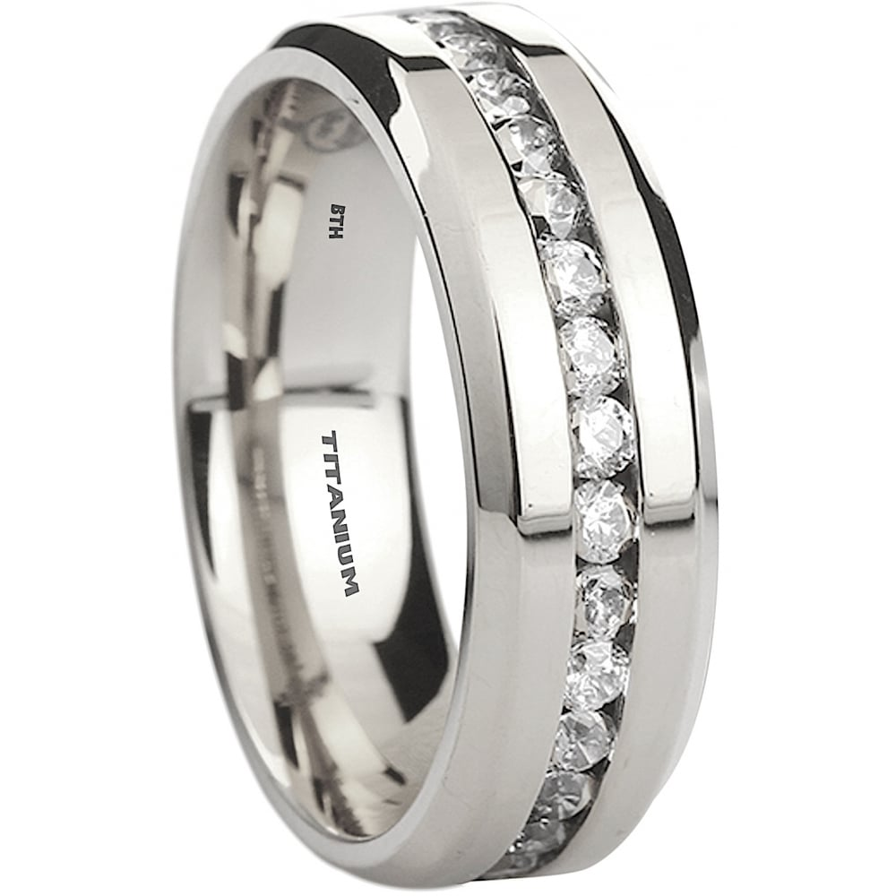 Men S Wedding Rings Diamontrigue Jewelry: Mens Titanium Wedding Band Ring
