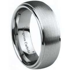 Mens Tungsten Carbide Wedding Engagement Ring