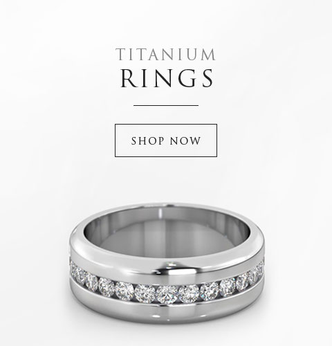 Titanium Rings - Shop Now