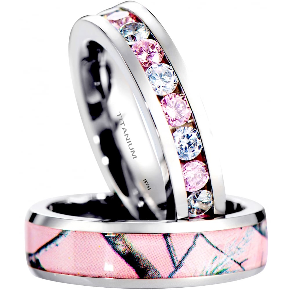 double step cz engagement pink rings sterling platinum sapphire cut plated emerald wedding ring accent silver